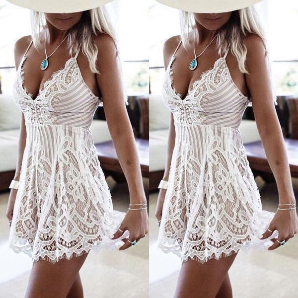 Summer, sleeveless, Shorts, Lace