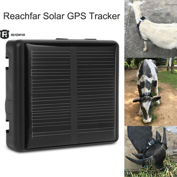 Reachfar RF - V26 Smart Solar GPS Tracker Waterproof Anti-lost SOS Alarm  GSM Quad Band Network WiFi Location