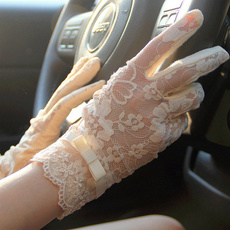 fashiontouchscreenfingerglove, ladylaceglove, Touch Screen, womensglove
