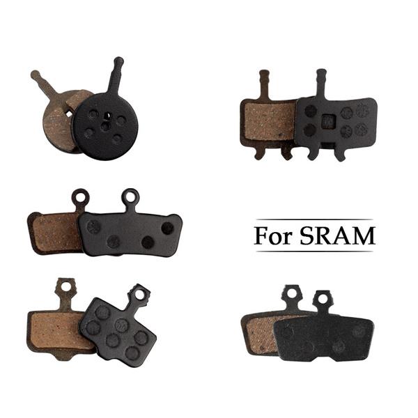 Brake pads 4 pairs Set Semi-Metallic resin Mountain bike For AVID BB5 Useful