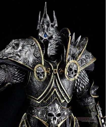 World Of Warcraft Wow Arthas Menethil Lich King Deluxe Action Figure Statue Toy