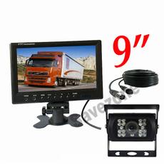 Truck, 9carlcdmonitor, wirelessreversingcamerasystem, Monitors