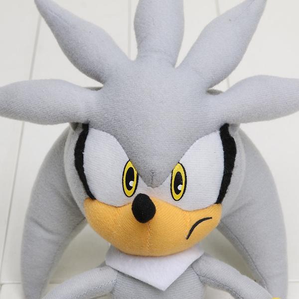 Wish Gray Sonic The Hedgehog Fox Tails Anime Plush Doll Fox