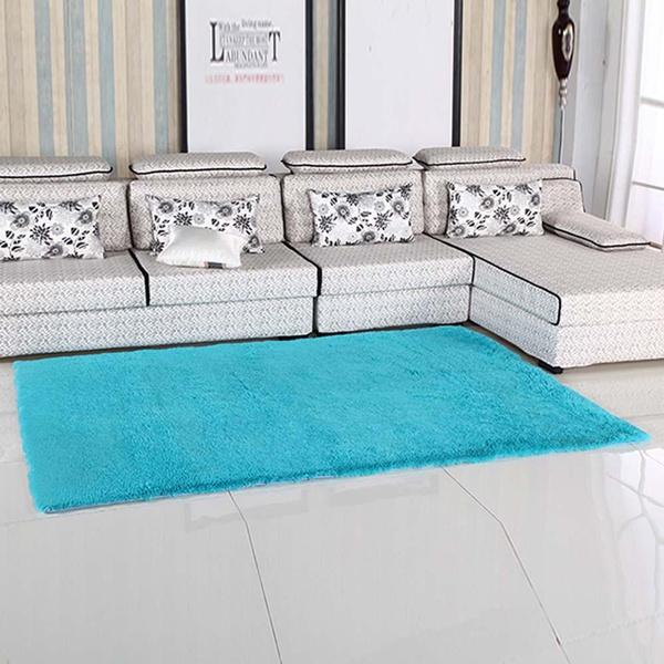 Wish | Fluffy Anti Rutschender Shagy Bereich Teppich Esszimmer Teppichboden   Matten