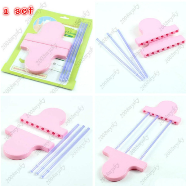 Hairpin Lace Loom Crafts Yarn/Wool Knitting Tool Easy Knit For Scarf/Lace