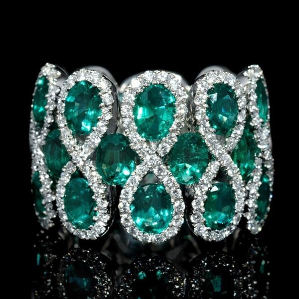 Sterling, Crystal, DIAMOND, 925 sterling silver