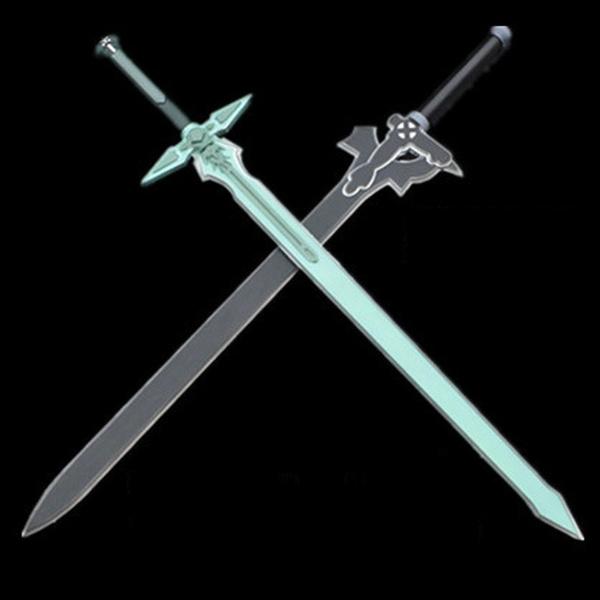 Sword Art Online SAO Kirigaya Kazuto Elucidator Dark Repulser Cosplay Prop PU