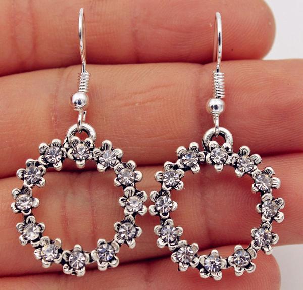 Silver Jewelry, Flowers, Jewelry, Silver Fashion Jewelry