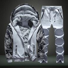 Two-Piece Suits, Winter, winterwarmcoat, Casual