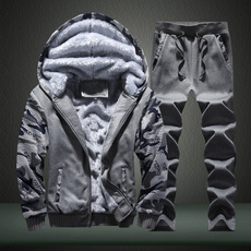 Set, Sleeve, Thickening, Men's Fashion