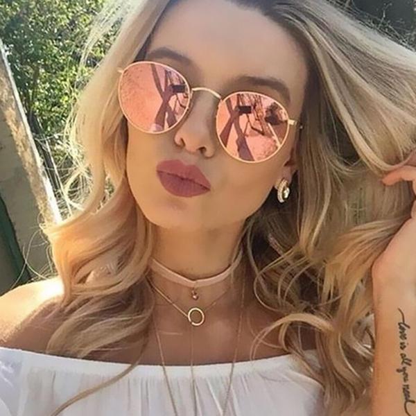 Vintage, Fashion, Fashion Accessories, Round Sunglasses