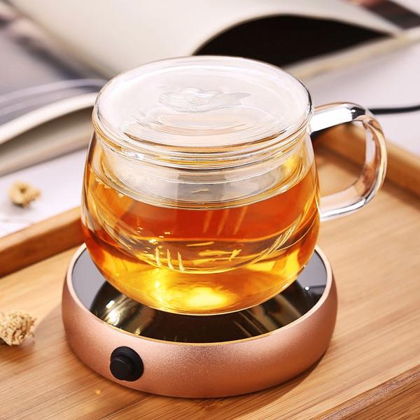 Home, Furniture & DIY Portable Electric Desktop Coffee Warmer Tea Heater Cup Mug Warmer Warming