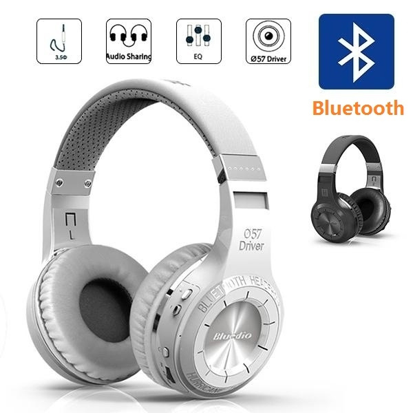 New Bluedio H Best Bluetooth 4 0 Head Phones Wireless Stereo Headset Portable Headphones Built In Mic Micro Sd Fm Radio Wish