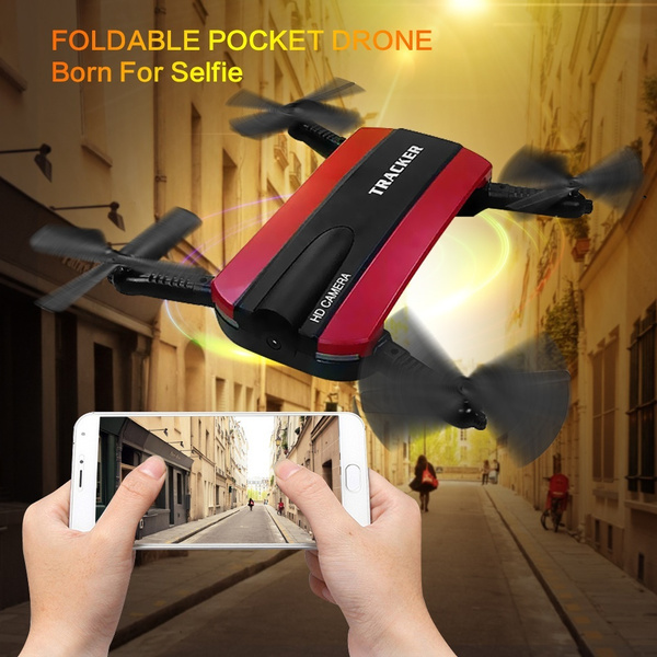 JXD 523W 2 4G 6-Axis Remote Control Foldable RC Quadcopter With HD Camera  WIFI FPV Altitude Hold Drone