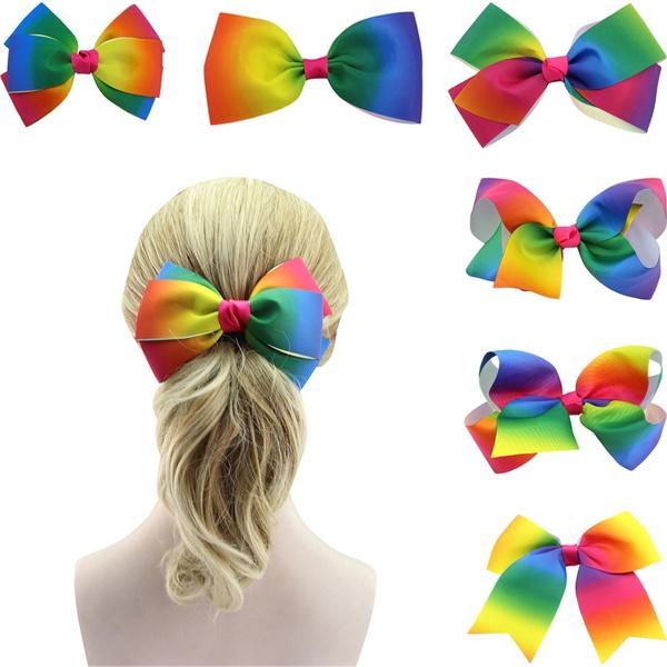 rainbow, multicolorrainbow, headdress, rainbowhairpin