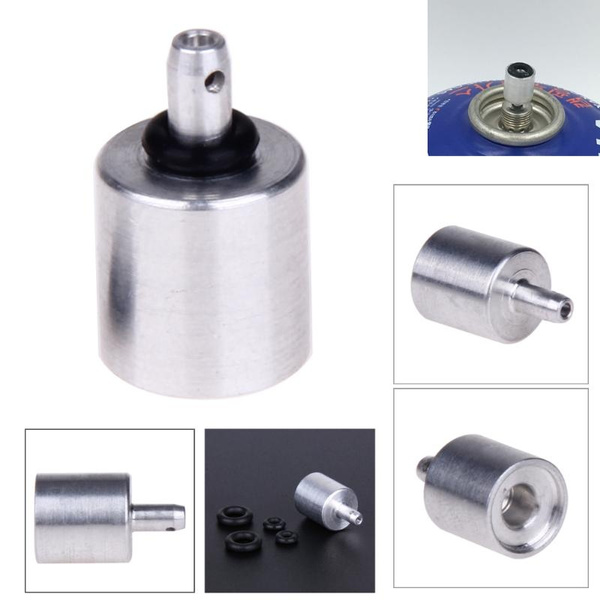 1Pcs Outdoor Camping Gas Refill Adapter Stove Gas Burner Gas Cylinder  Accessories