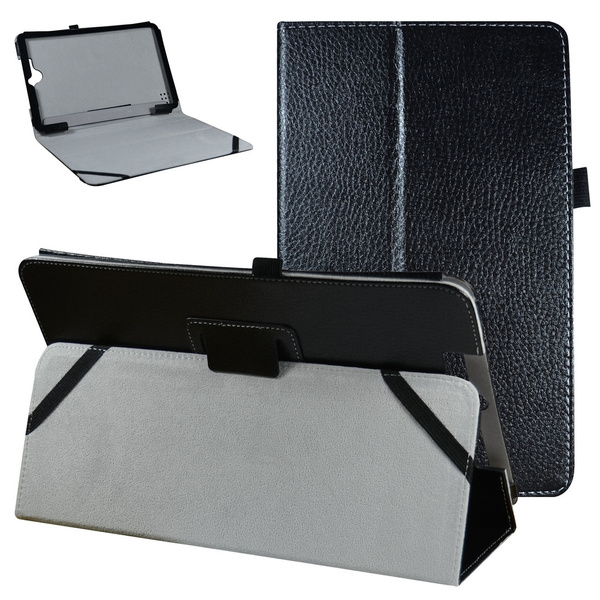 Mama Mouth PU Leather Folio 2-folding Stand Cover with Stylus Holder for  11 5