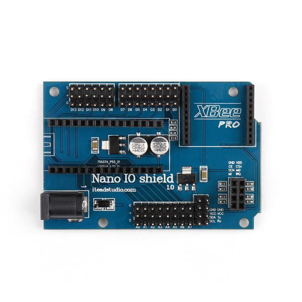 NANO Prototype Shield NANO IO Expansion Board with XBee//24L01 Interface NEW