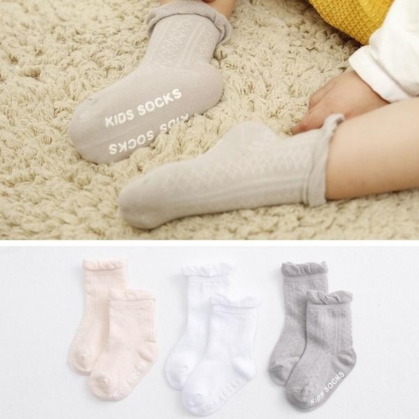 verschillende kleuren top mode kwaliteitsproducten Baby Meisjes Mooie Zachte Katoenen Sokken Kids Hoge Knie Kind Kousen Warm  Babykleding