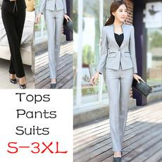 trousers, Blazer, Winter, Office