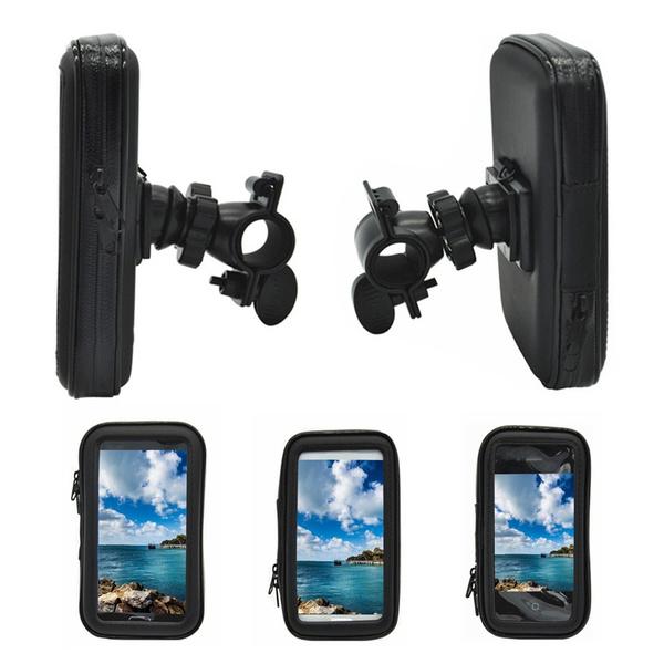 Portable Waterproof Motorbike ATV Handlebar Mount Storage Cellphone Bag Case Kit