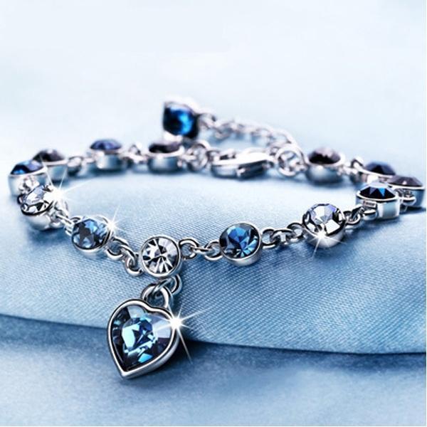 Crystal Bracelet, Fashion, Jewelry, Chain