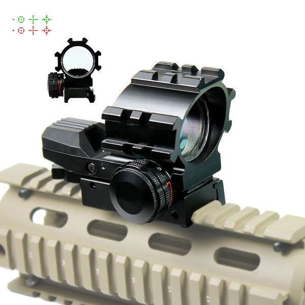 Hunting Rifle Scopes Red/Green Dot Scope Sniper Tactical Optics Holographic  Sight Reflex Chasse Airsoft Air Guns Pistol Sight