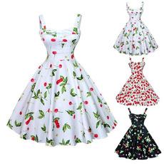Mini, Swing dress, Midi Dresses, Floral print