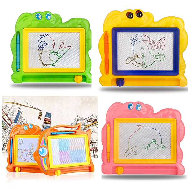 Magnetic Drawing Board Sketch Pad Doodle Writing Craft Art for Children Kids New