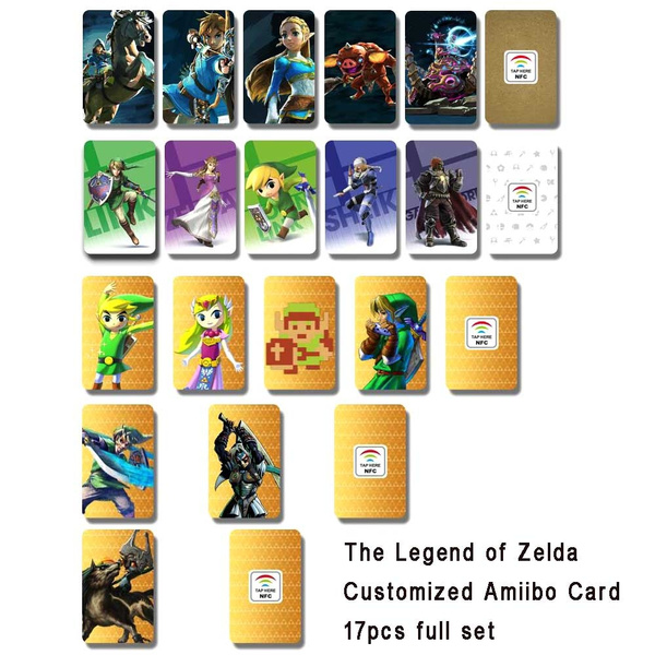 image relating to Printable Amiibo Cards identify 17computer systems/pack Custom made Amiibo Card The Legend of Zelda Collection NFC Card with Substantial Sensing House