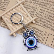 Blues, Owl, keyholder, Key Chain