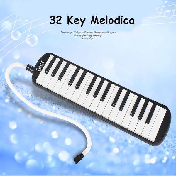 IRIN Portable 32 Key Melodica Student Harmonica with Bag