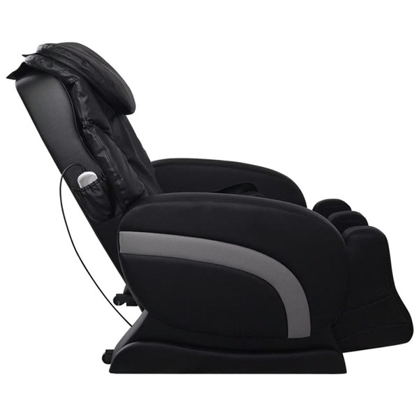 Wish | VidaXL Electric Artificial Leather Recliner Massage Chair Black