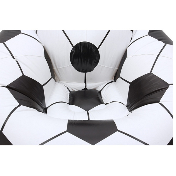 Wish Inflatable Chair Large Cool Football Design Inflatable Sofa