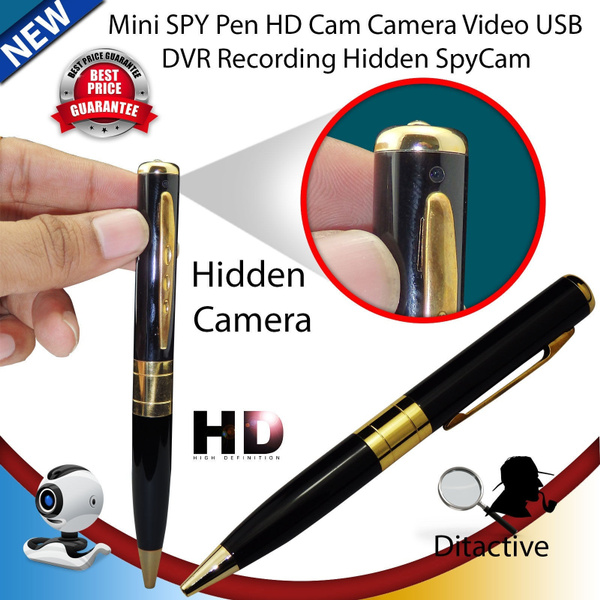 Silver USB HD DV Camera Pen Recorder Hidden Security DVR Cam Video Spy 1280x960