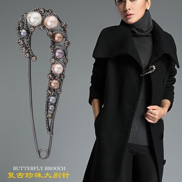Beautiful, bigpin, cardigan, Jewelry