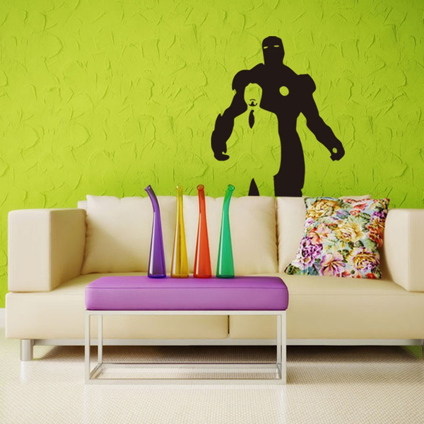 Wish   Avengers 3D Boy Wall Stickers Decals Art for Kids Room Living ...
