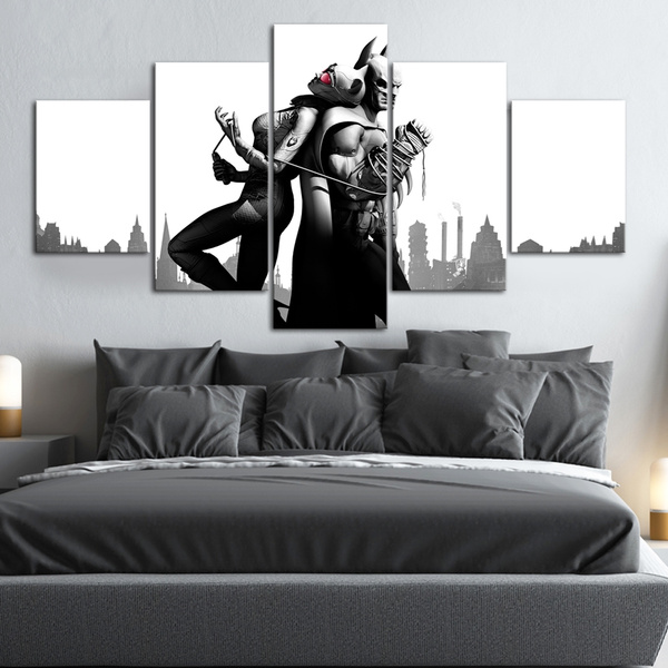 Batman And Catwoman Children Bedroom Decoration Picture Poster Modern Wall Art Print Painting On Canvas Art
