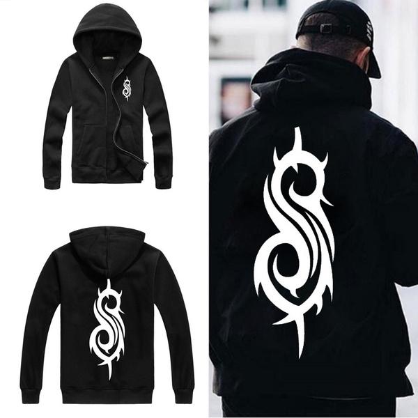Slipknot Mens Logo Hooded Sweatshirt Black