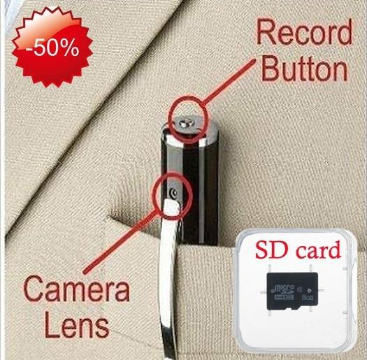 Mini, Spy, pencamera, videocamera