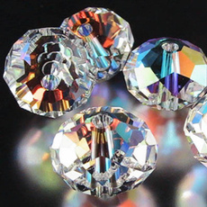 8MM, Jewelry, Crystal, rondelle