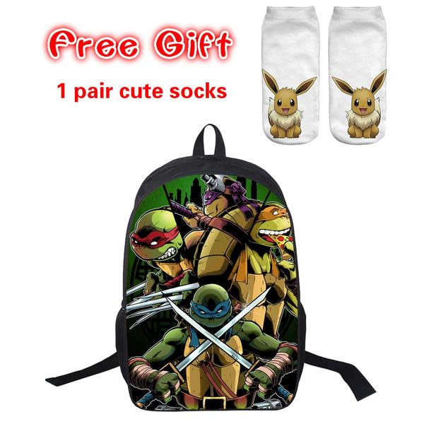 Teenage Mutant Ninja Turtles Large Kids Backpack School Bag Boys Girls