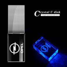 led, usb, lights, Crystal