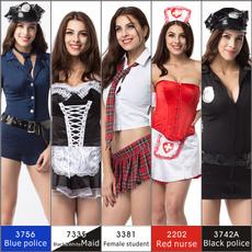 Christmas, Halloween Costume, Dress, Lingerie