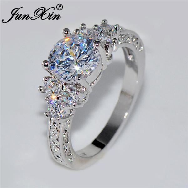 Beautiful, Silver Jewelry, DIAMOND, gold