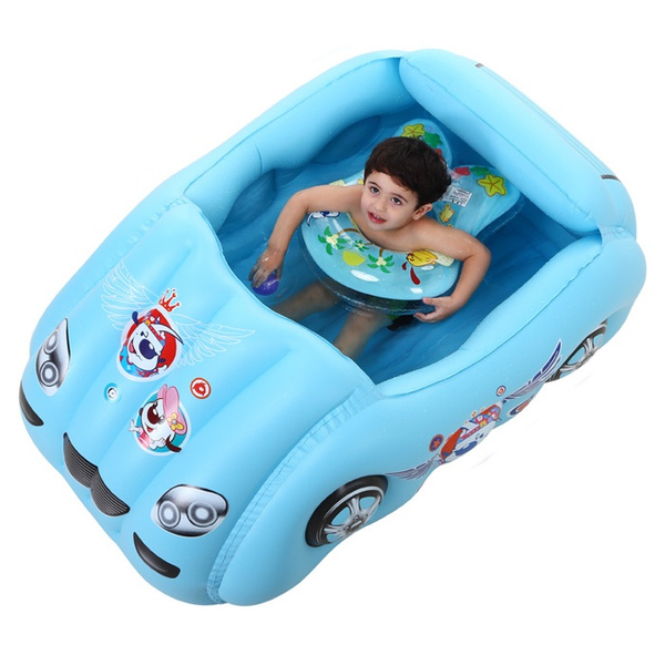 Wish | Baby Swimming Pool Inflatable Kiddie Toys Car Play Game [<jiaw>]