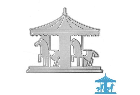 Pagoda Metal Cutting Dies Cut Die Mold Decoration Scrapbook Paper