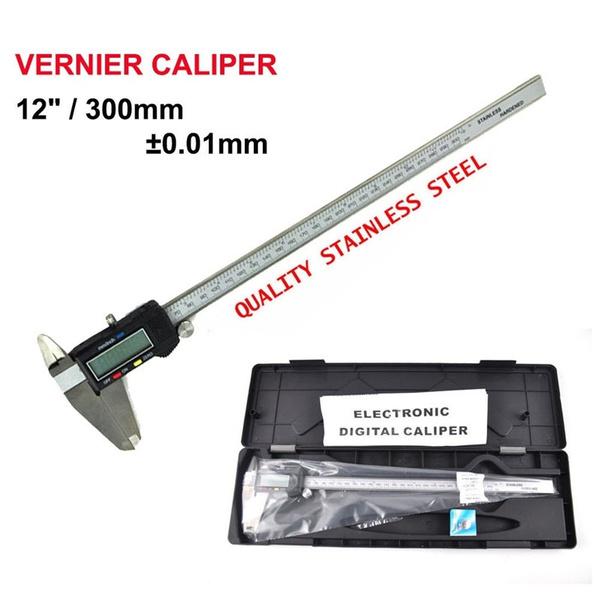 lcdcaliper, Men, digitalmicrometer, Stainless Steel