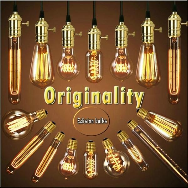 Light Bulb, Antique, Decor, Home Decor