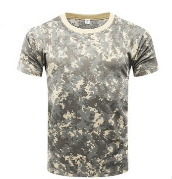 89fd56a1 Wish | New Army Military Shirt Men Camouflage Fitness T Shirt ...